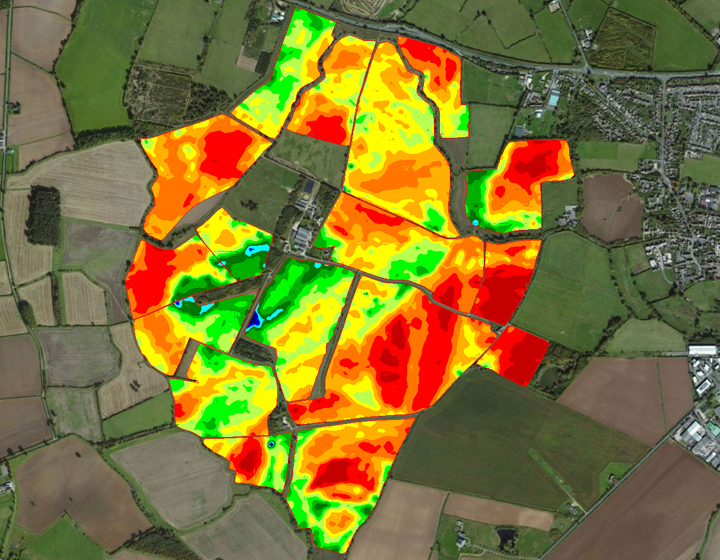 Detailed maps of the variation in soil properties
