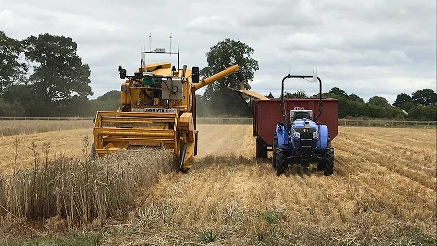 Hands Free Hectare brings in first robot wheat harvest. Farmers Weekly 24-08-18
