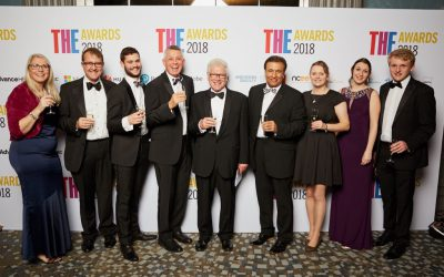 Hands Free Hectare project scoops The Times Higher Education Technology Innovation Award